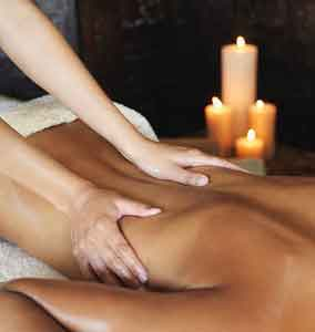 The gentle touch of Massage